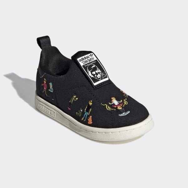 adidas Tenis Stan Smith 360 (UNISEX) - Negro | adidas Mexico