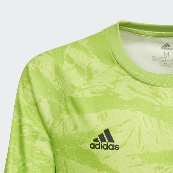 89447a00 adidas AdiPro 19 Goalkeeper Jersey - Green | adidas Canada