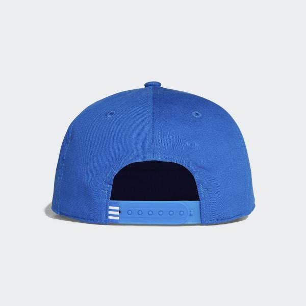 c667b20853069 adidas Gorra Trifolio Snap-Back - Azul