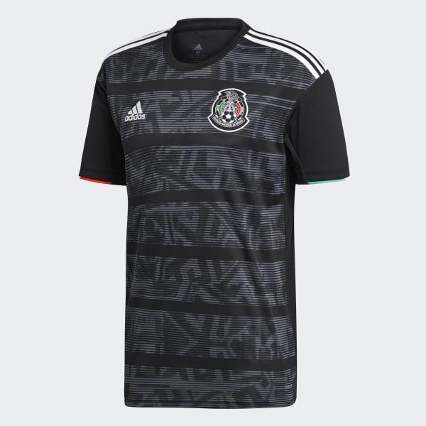 bb8fbb920eb92 adidas Jersey Oficial Selección de México Local 2019 - Negro ...