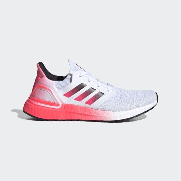 Adidas Ultraboost 20 Shoes White Adidas Us