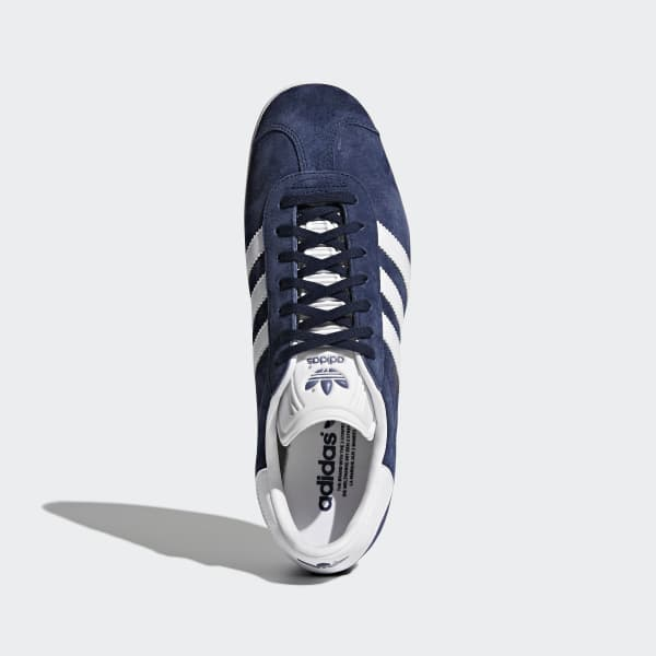 Chaussures Gazelle bleues et blanches | adidas France