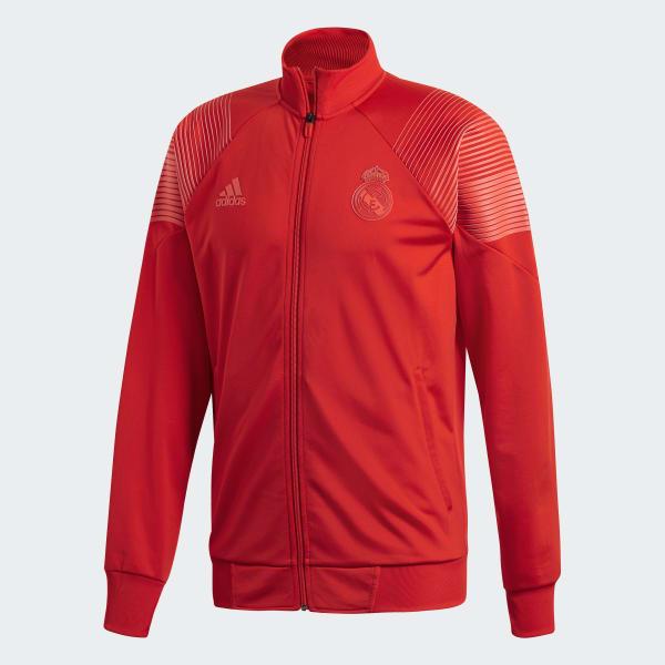 adidas Chamarra Icon Real Madrid 2018 - Rojo  89fb9f5085e6e