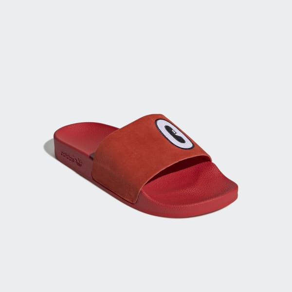 official photos 09fee 317f0 adidas Adilette Slides - Red   adidas US adidas slides red