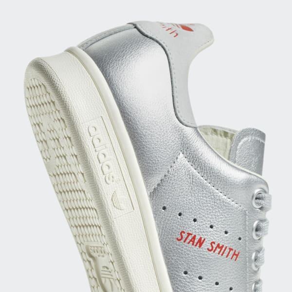 the latest 7db0f 3f875 adidas Stan Smith Shoes - Silver   adidas Finland