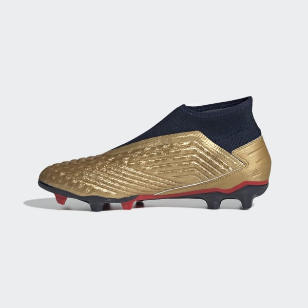41a08b0e5c3 adidas Predator 19.3 Firm Ground Zinédine Zidane Boots - Gold ...