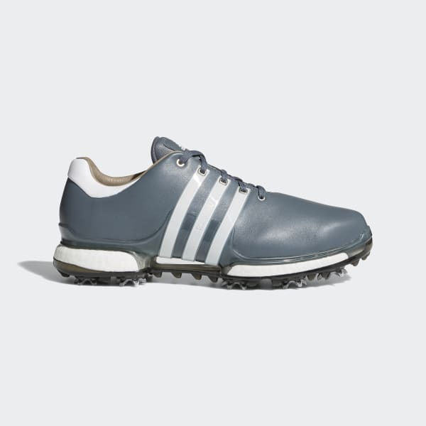 adidas Tour 360 Boost Shoes 2.0 In Gray F33627