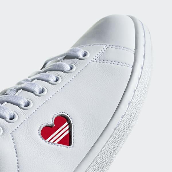 la mejor moda nueva colección invicto x adidas Stan Smith Shoes - White | adidas Australia