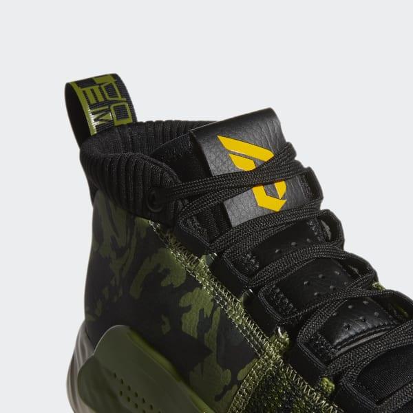 adidas Dame 5 Shoes - Green   adidas