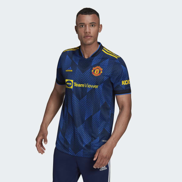 Manchester United 21/22 Third Authentic Jersey