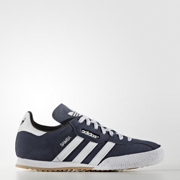 adidas Samba Super Suede Shoes - Blue