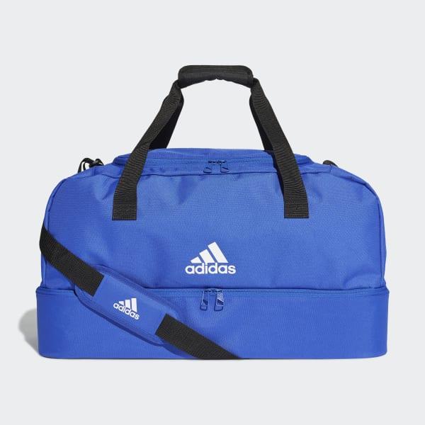 M Bold Blue//White adidas Tiro Medium Duffel Sports Bag