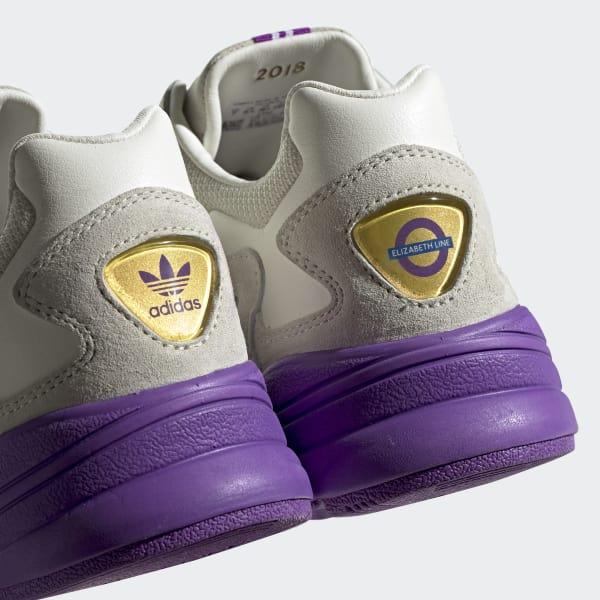 90001d98e4b1 adidas Originals x TfL Falcon Shoes - White