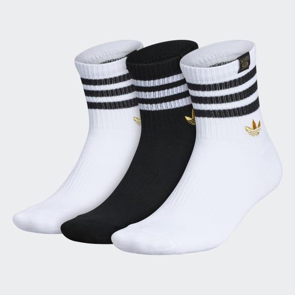 adidas SST 50 Quarter Socks 3 Pairs