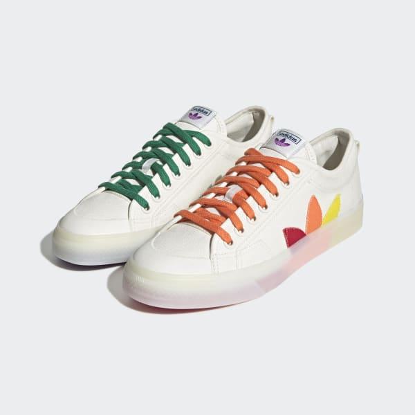 adidas Nizza Pride Shoes - White