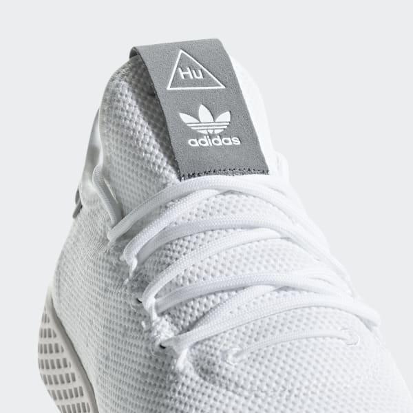 933d32021337 Basket Adidas Originals Pharrell Williams Tennis Hu - B41793 Chaussures  Bateau Mixte Enfant - Noir (