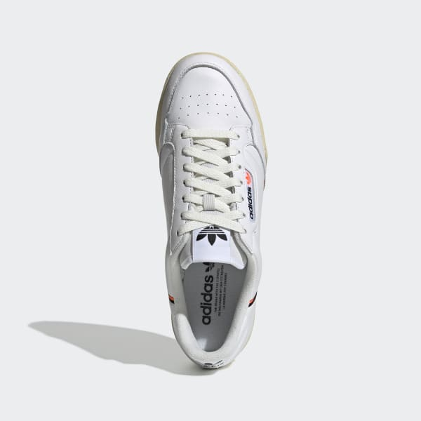 Continental 80 wit oranje schoenen | adidas Nederland