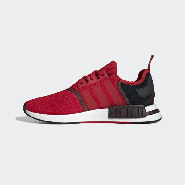 Men's NMD R1 Red and Black Shoes | adidas US