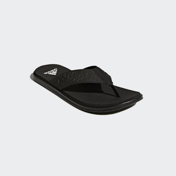 f282753840c85a adidas Beachcloud Cloudfoam Thong Sandals - Black