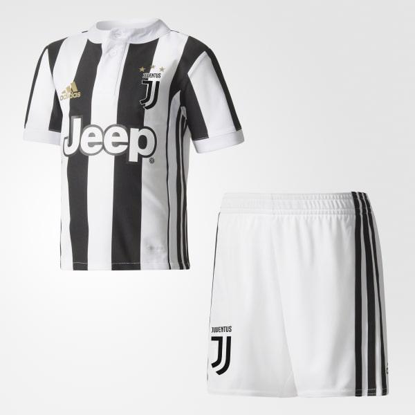 adidas Juventus Home Mini Kit - White  a6825e1b0
