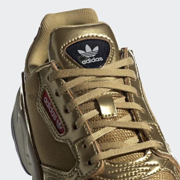 adidas falcon w mujer dorado