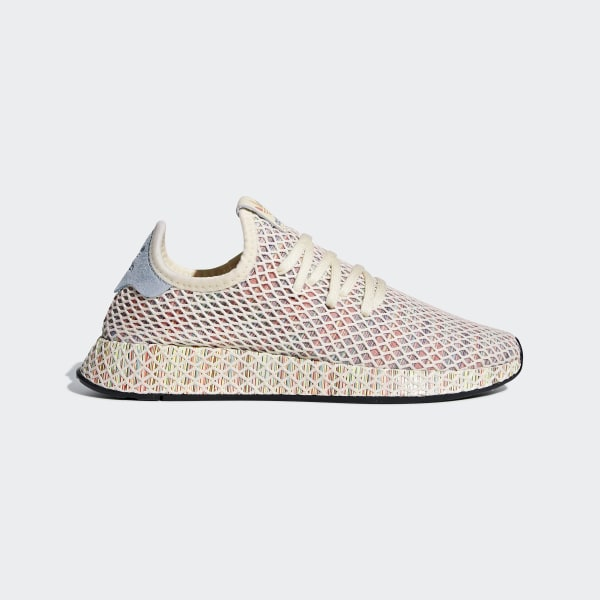 d56956a98291f adidas Deerupt Pride Shoes - White