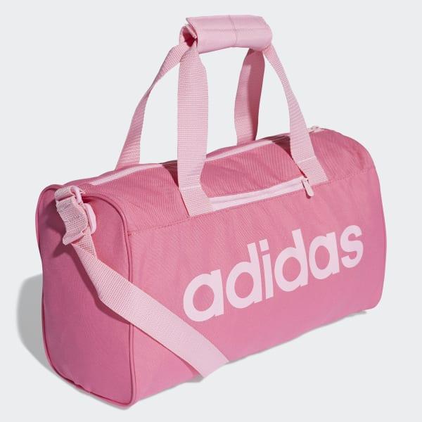 940f1a8abee90 Bolsa de deporte Linear Core - Rosa adidas
