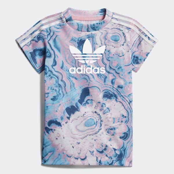 Marble T-Shirt-Kleid-Set