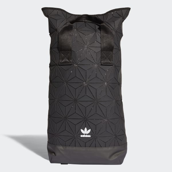adidas 3D Roll Top Backpack - Black  56f096892109e
