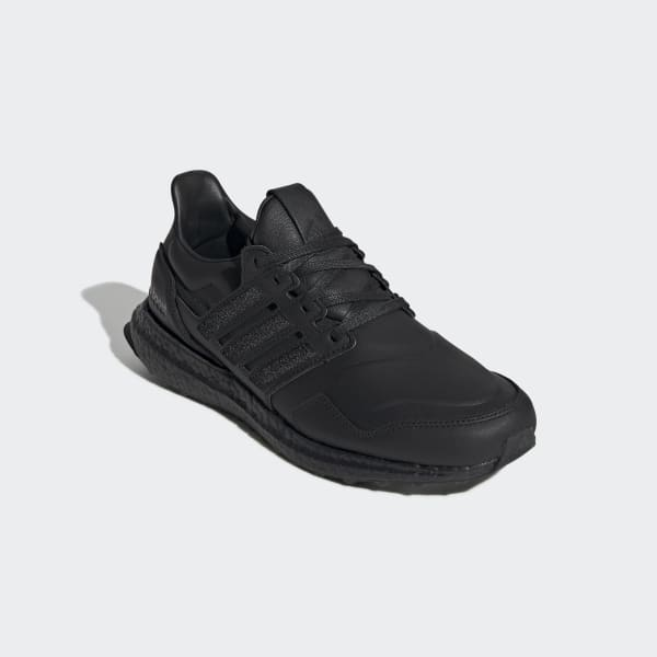 Ultraboost Leather Core Black Shoes