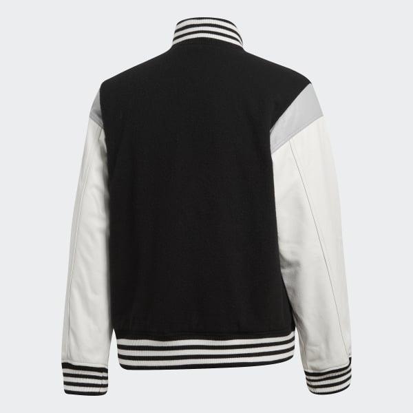 8a11304947e adidas UA&SONS Varsity Jacket - Black | adidas US
