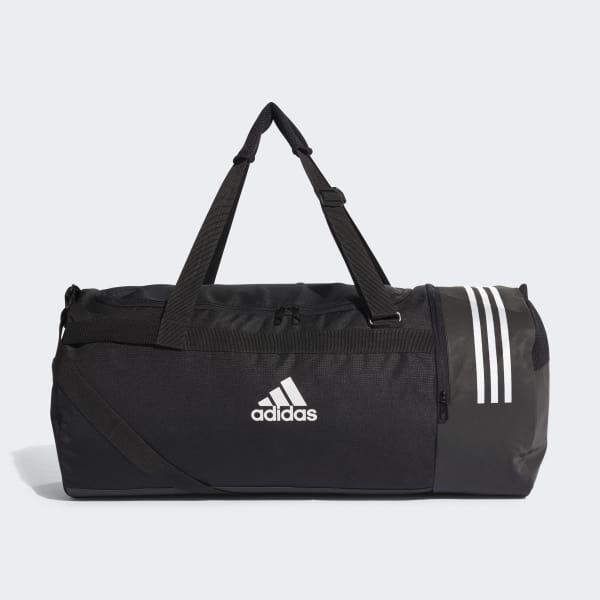 4605ec26b93c adidas Convertible 3-Stripes Duffel Bag Large - Black