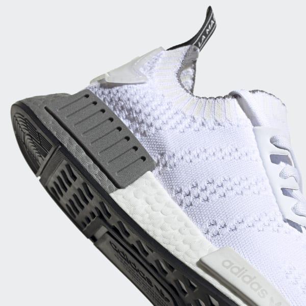 adidas NMD_R1 Primeknit Shoes - White
