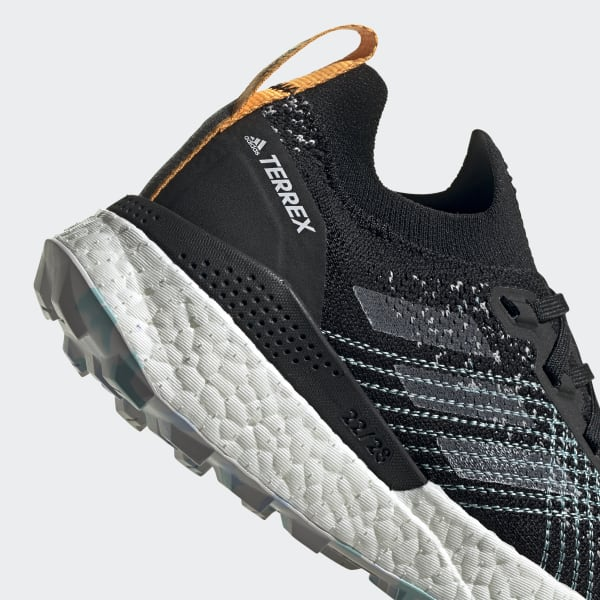 Adidas Terrex Two Ultra Parley Trail Running Shoes Black