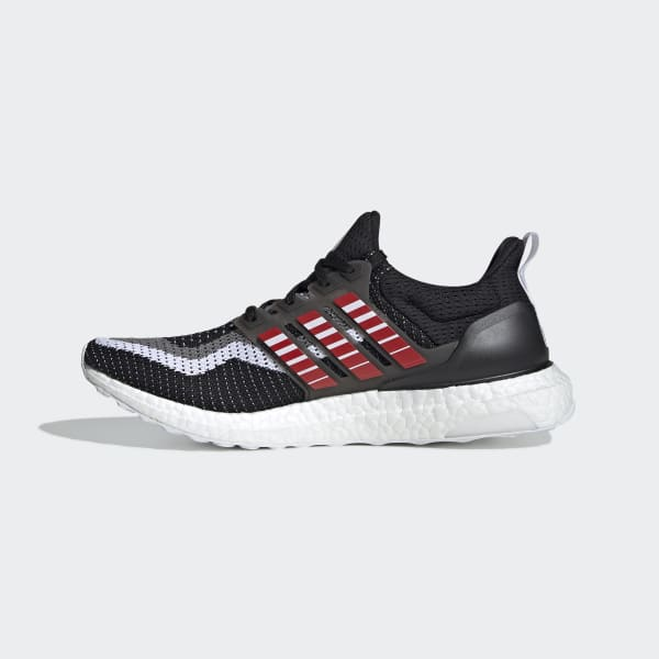 NEW MEN/'S ULTRABOOST CITY SHOES CORE BLACK BLUE SCARLET
