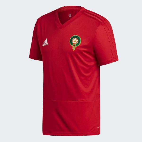 Maillot d'entraînement Maroc rouge adidas | adidas France