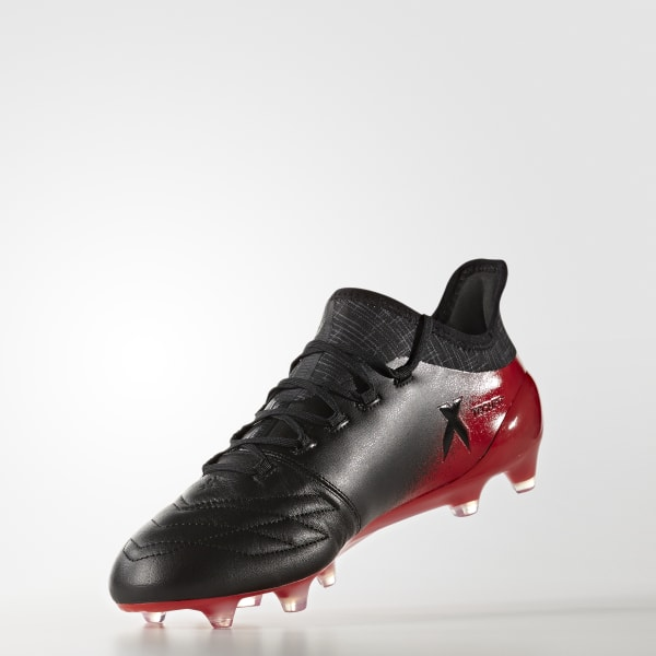 X 16.1 Leather Firm Ground Cleats