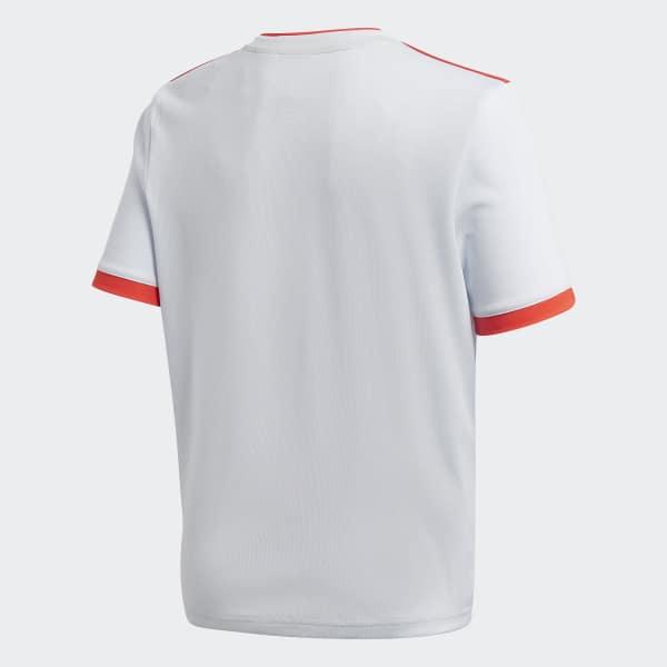 1feb8b81e0b9f Camisa Oficial Espanha 2 Juvenil 2018 - Azul adidas