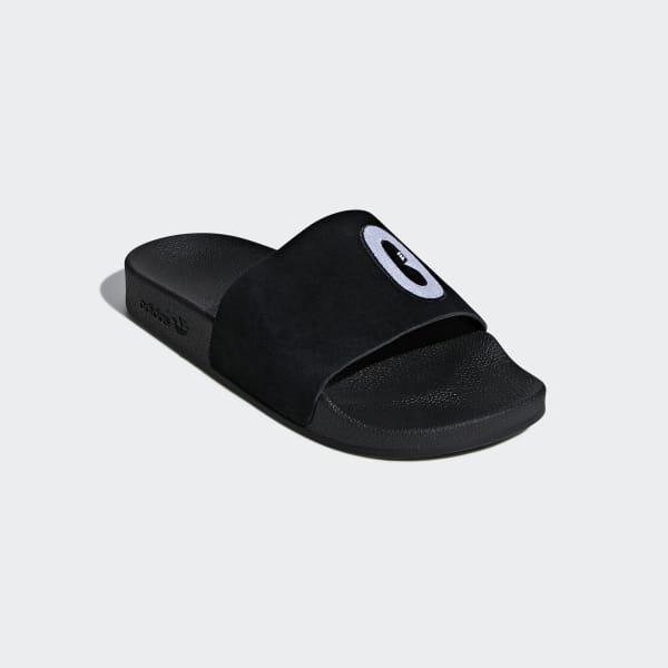 360823790 adidas Adilette Slides - Black