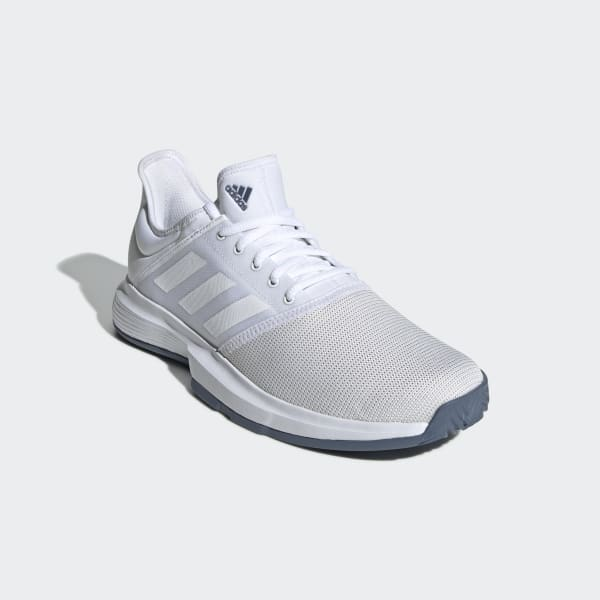 bf61078909d adidas GameCourt sko - Hvid | adidas Denmark