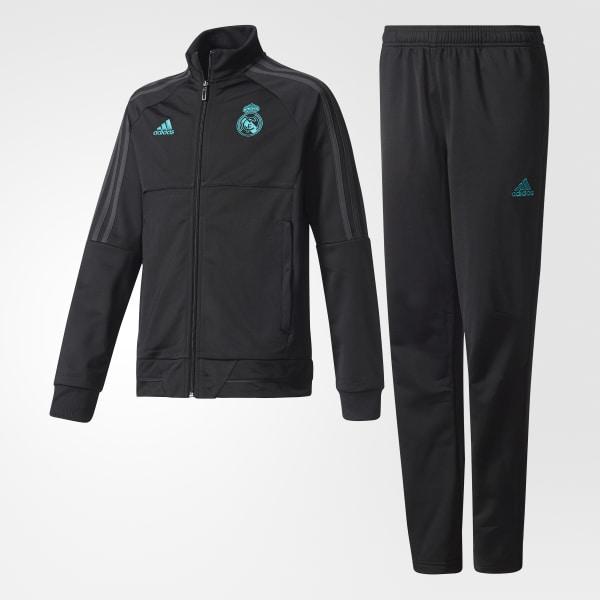 adidas Sudadera Real Madrid - Negro  b26e5d3238bd4