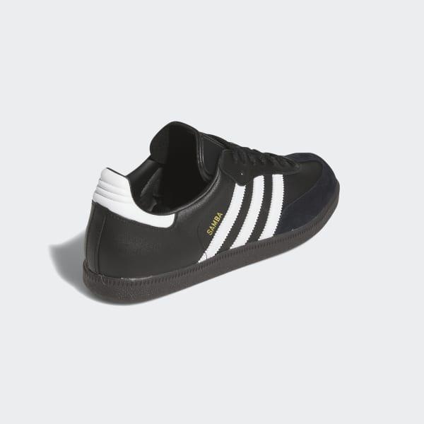 adidas Samba Leather Shoes - Black