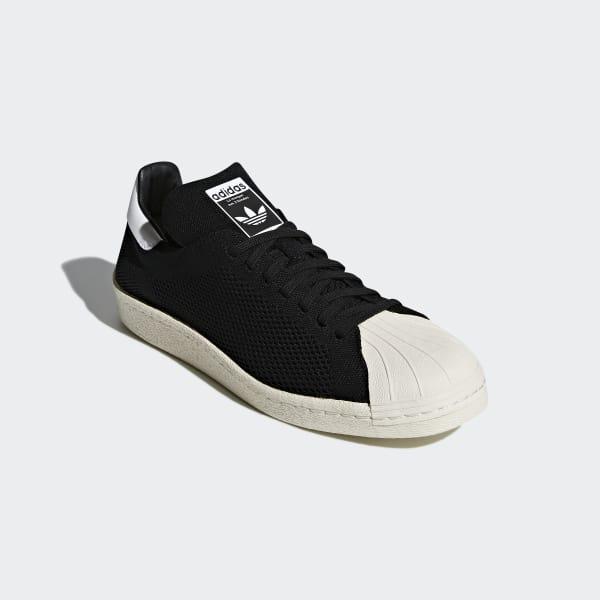 4643f96f20 adidas Superstar 80s Primeknit Shoes - Black | adidas Singapore