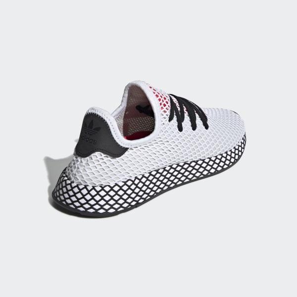 túnel Vueltas y vueltas franja  Cheap adidas Deerupt Runner White Black Red Shoes Outlet