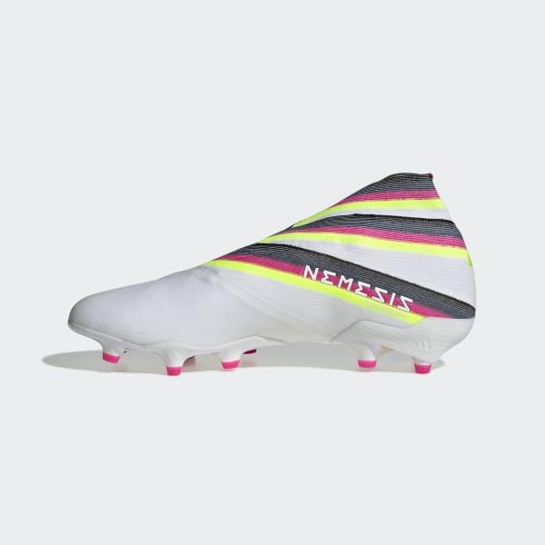 22c4e13174d adidas Botas de Futebol Nemeziz 19+ – Piso firme - Branco | adidas MLT