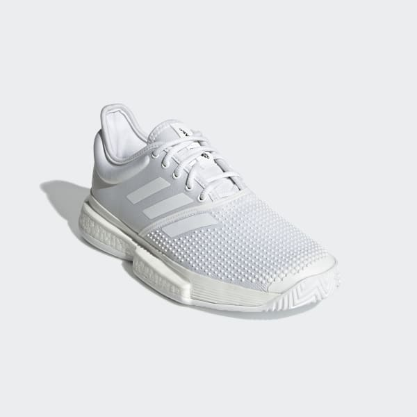 adidas SoleCourt Boost x Parley Shoes White | adidas UK