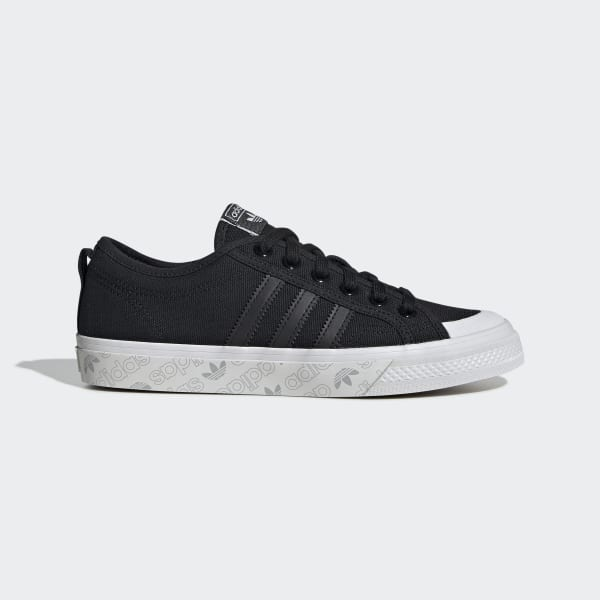 Women's Nizza Core Black and Grey Shoes