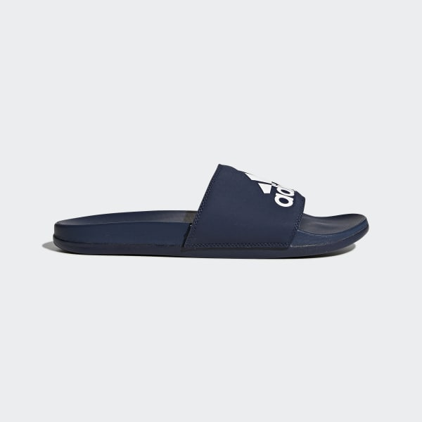 adidas Adilette Cloudfoam Plus Men's Collegiate Navy/White AC8329