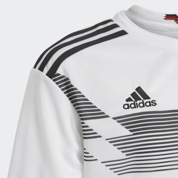 4ec326ac4b427 Camisa Oficial Alemanha 1 Infantil 2018 - Branco adidas