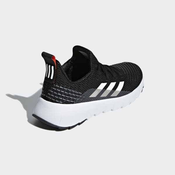 Adidas Running Asweego Kids Shoes Core Black//Cloud White//Solar Red G26768